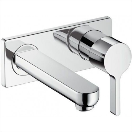 Hansgrohe - Metris S Single Lever Basin Mixer Concealed With 165mm Spout