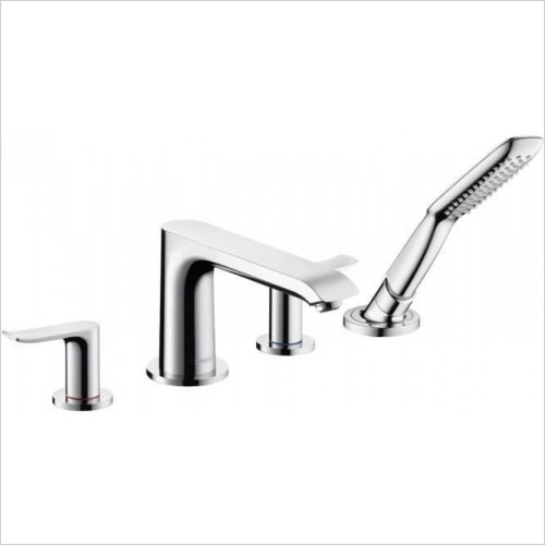 Hansgrohe - Metris 4 Hole Bath Mixer Finish Set Rim