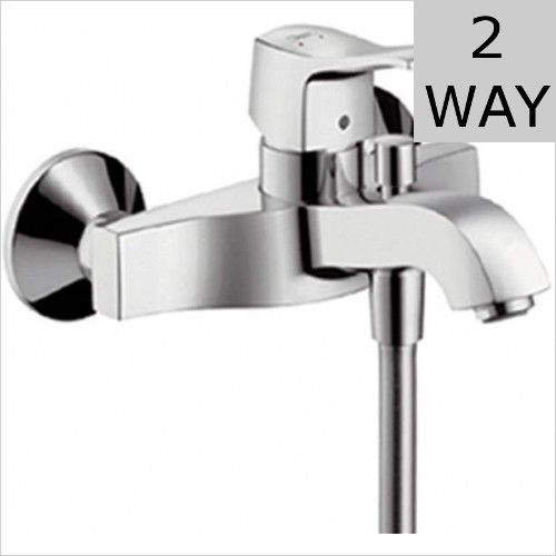 Hansgrohe - Metris Classic Single Lever Bath Shower Mixer