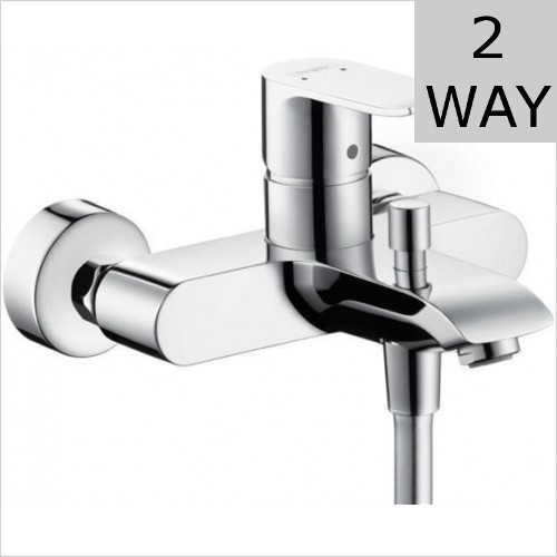 Hansgrohe - Metris Wall Mounted Bath Shower Mixer