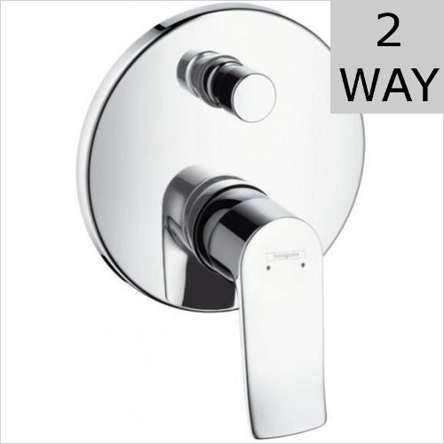 Hansgrohe - Metris Concealed Manual Valve With Diverter