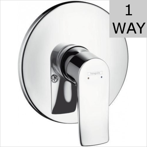 Hansgrohe - Metris Single Lever Manual Shower Mixer Concealed