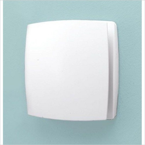 HIB - Breeze Extractor Fan With Timer & Humidity Sensor