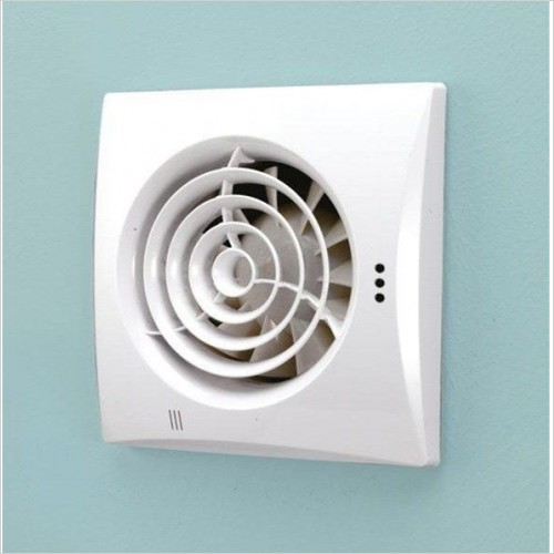 HIB - Hush Extractor Fan With Timer & Humidity Sensor