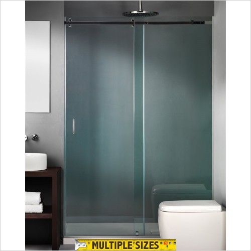 The Shower Lab - Tarim 30 Sliding Door With Fixed Panel - 1200mm
