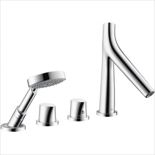 Hansgrohe - Axor Starck Organic 4 Hole Thermostatic Bath Mixer For Bath