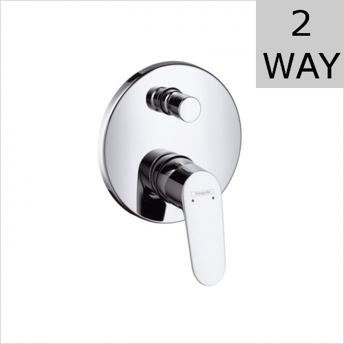 Hansgrohe - Focus Concealed Bath Shower Mixer