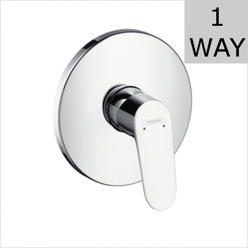 Hansgrohe - Focus Concealed Single Lever Shower Mixer