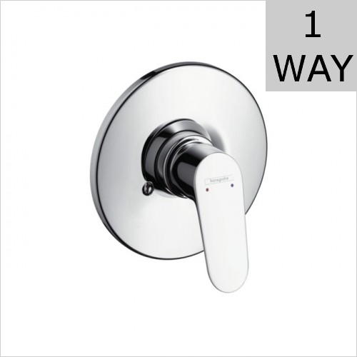 Hansgrohe - Focus Concealed Single Lever Bath Or Shower Mixer