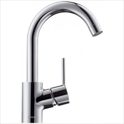 Hansgrohe - Talis S Side Lever Basin Mixer With 360 Swivelling Spout