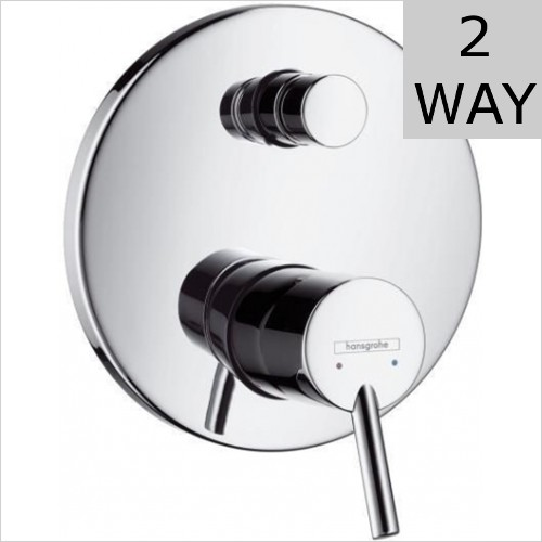 Hansgrohe - Talis S Concealed Bath Shower Mixer 150mm