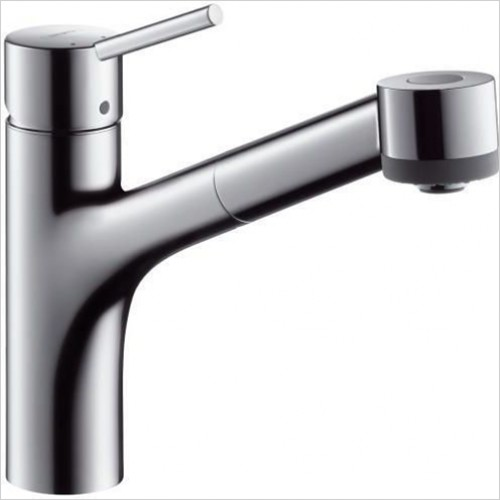 Hansgrohe - Talis S Single Lever Sink Mixer With Pullout Spray