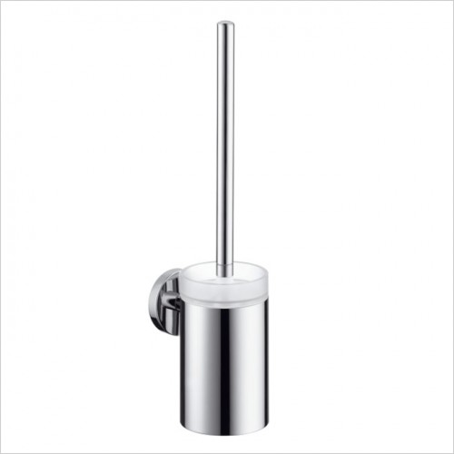 Hansgrohe - Logis Glass Toilet Brush With Glass Holder
