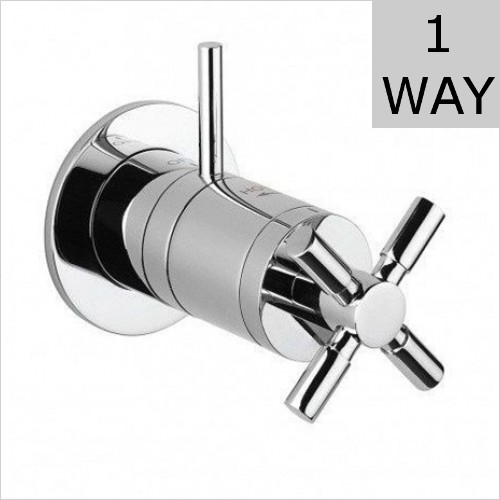Crosswater - Totti Mini Concealed Thermostatic Shower Valve