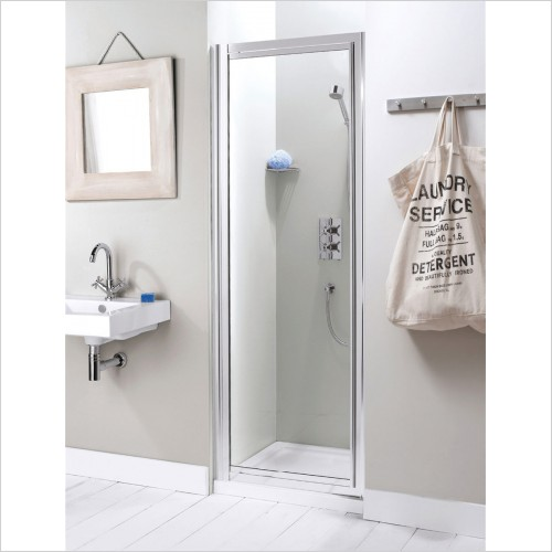 Crosswater - Surpeme Pivot Shower Door - 600mm