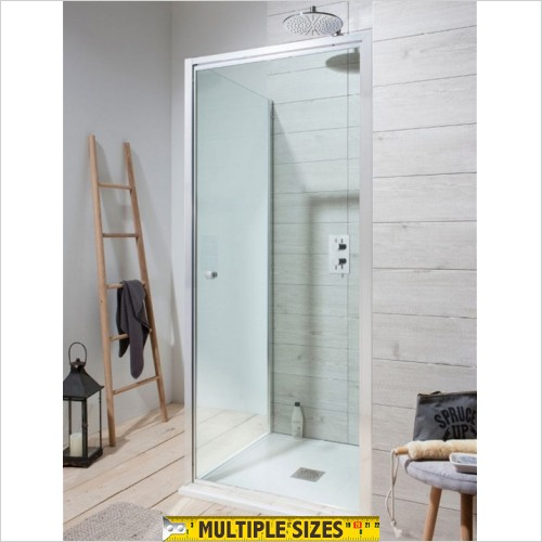Crosswater - Edge Pivot Shower Door - 700mm