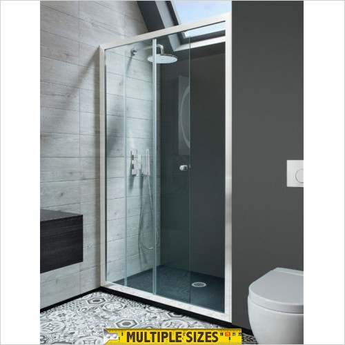 Crosswater - Edge Single Slider Shower Door - 1000mm