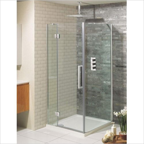 Crosswater - Ten Hinged Shower Door - 800mm