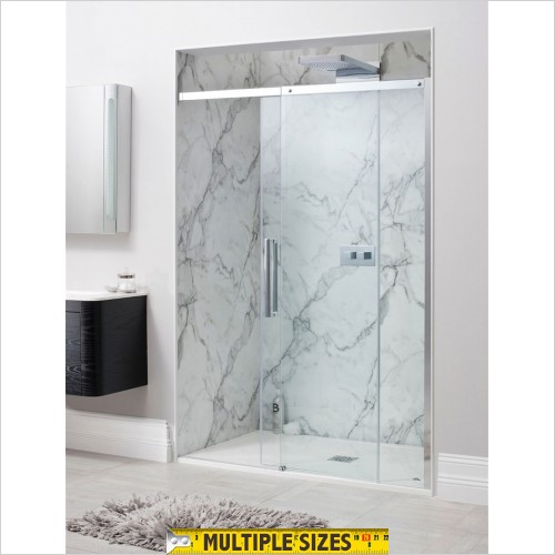 Crosswater - Ten Single Slider Shower Door - 1200mm