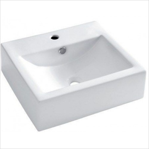 Crosswater - Bolonia 500mm Wall Mounted / Countertop Basin