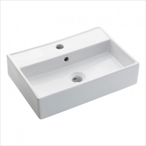 Crosswater - Turin 500mm Wall Mounted / Countertop Basin