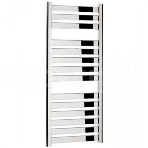 Crosswater - Edge Chrome Flat Panel Towel Warmer 500 x 1150mm