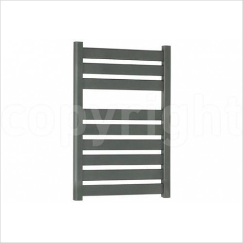 Crosswater - Edge Anthracite Flat Panel Towel Warmer 500 x 1420mm