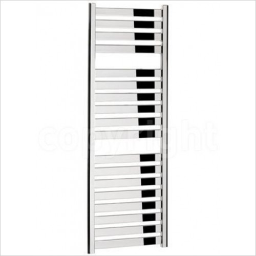 Crosswater - Edge Chrome Flat Panel Towel Warmer 500 x 1420mm