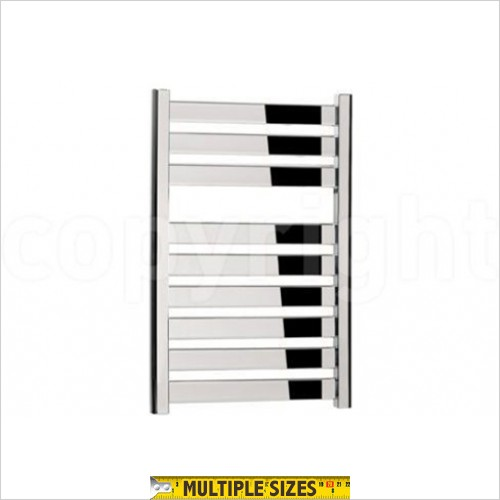 Crosswater - Edge Chrome Flat Panel Towel Warmer 500 x 720mm