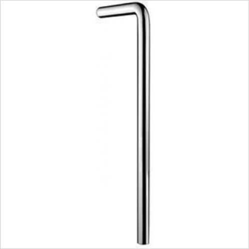 Hansgrohe - Floor Tube 90 Degrees