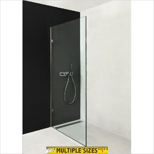 The Shower Lab - Neon 01 Wetroom Fixed Panel - 300mm
