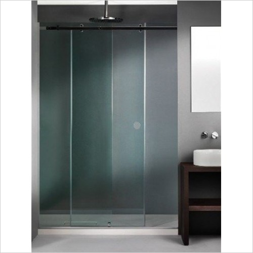 The Shower Lab - Tarim 30 Sliding Door With Fixed Panel - Bespoke