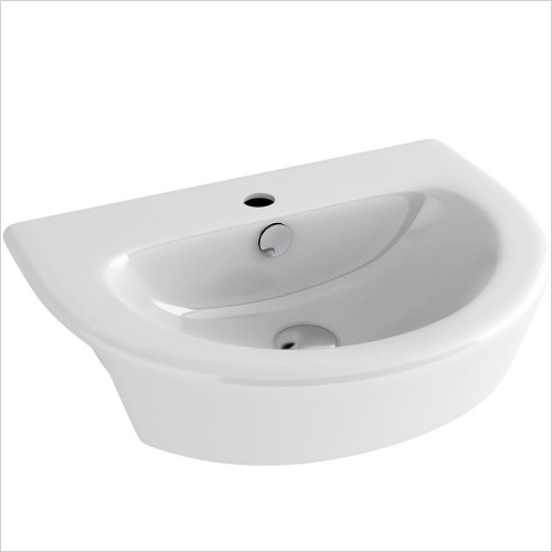 Park Street Bathrooms - Dream Semi Recessed Basin 550 X 420mm