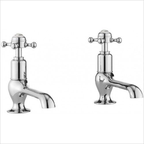 Crosswater - Belgravia Crosshead Long Nose Basin Taps