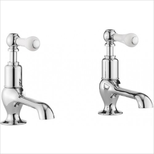 Crosswater - Belgravia Lever Long Nose Basin Taps