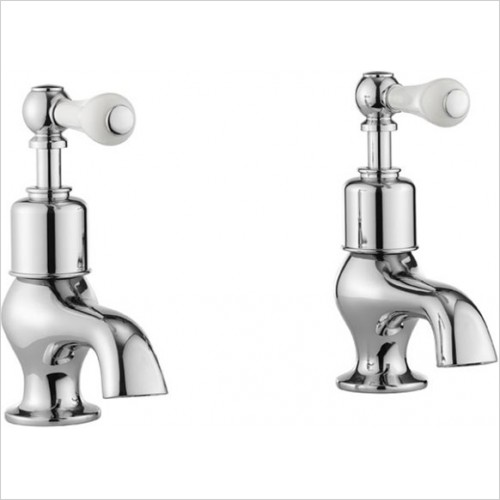 Crosswater - Belgravia Lever Bath Pillar Taps