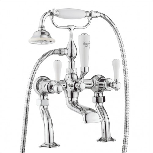 Crosswater - Belgravia Lever Bath Shower Mixer