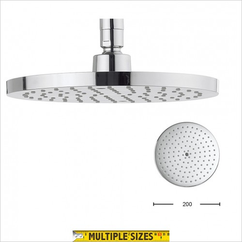 Crosswater - Central 200mm Round Showerhead
