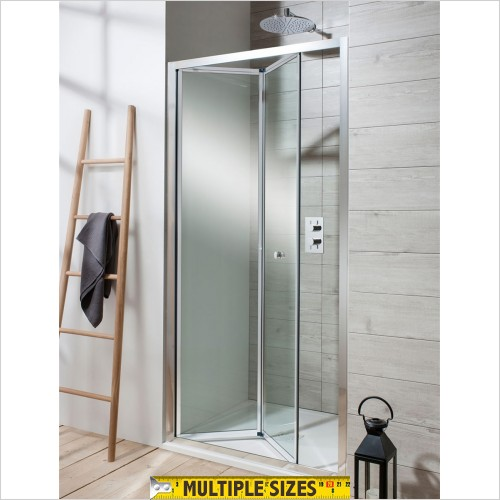 Crosswater - Edge Bifold Shower Door - 700mm