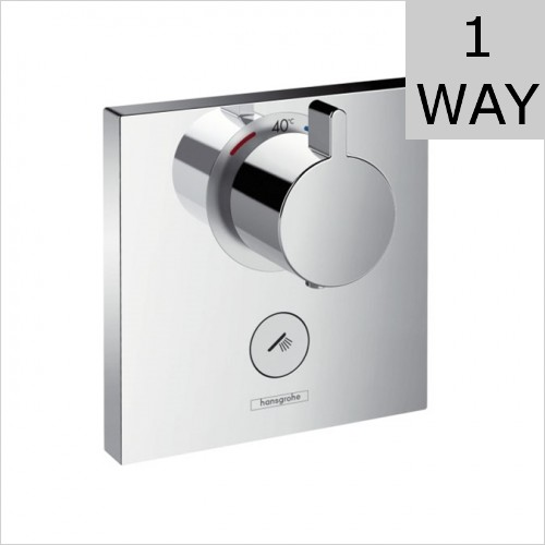 Hansgrohe - ShowerSelect Concealed Highflow Thermostatic Valve 1 Outlet