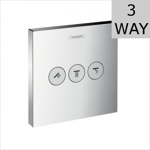 Hansgrohe - ShowerSelect Concealed Valve For 3 Outlets