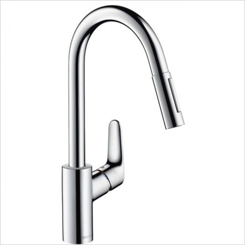 Hansgrohe - Focus Single Lever Kitchen Mixer With Pull-Out Spray