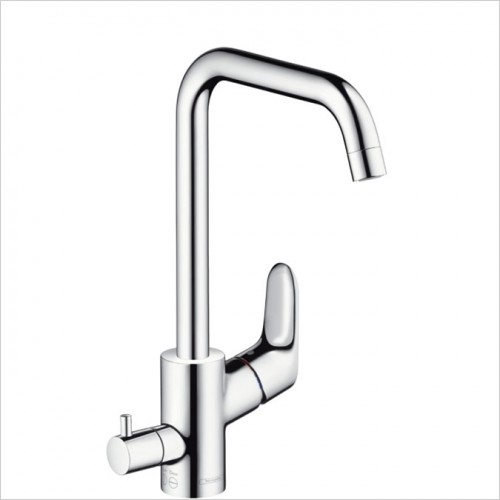 Hansgrohe - Focus Single Lever Kitchen Mixer With Shut Off Valve