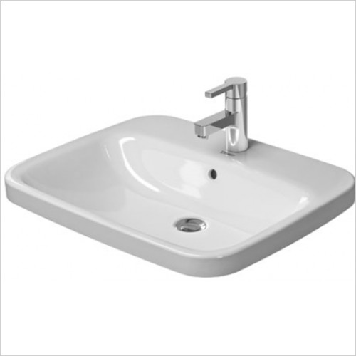 Duravit - DuraStyle Inset Vanity Basin 615 x 495mm With 1 Tap Hole