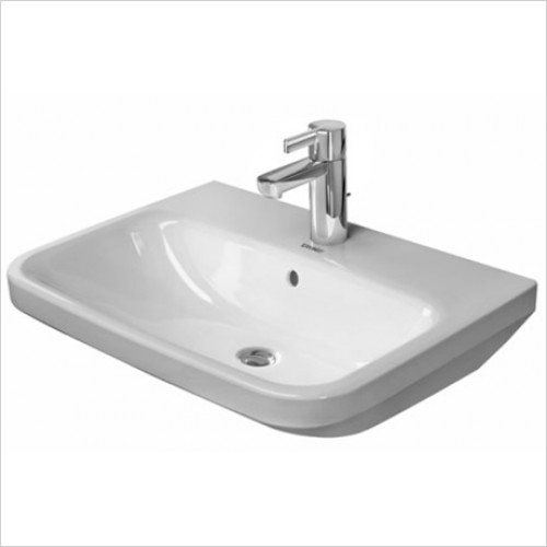 Duravit - DuraStyle Washbasin 600mm x 440mm With 3 Tap Holes