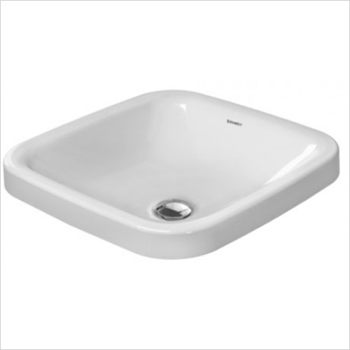 Duravit - DuraStyle Inset Vanity Basin 430 x 430mm Without Tap Hole