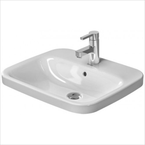 Duravit - DuraStyle Inset Vanity Basin 615 x 455mm With 1 Tap Hole