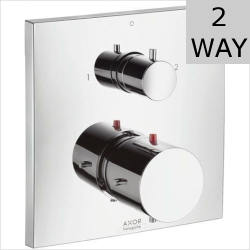Hansgrohe - Axor Starck X Concealed Thermostatic Valve With Diverter