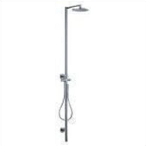 Hansgrohe - Axor Starck Shower Column With Thermostat & Overhead Shower