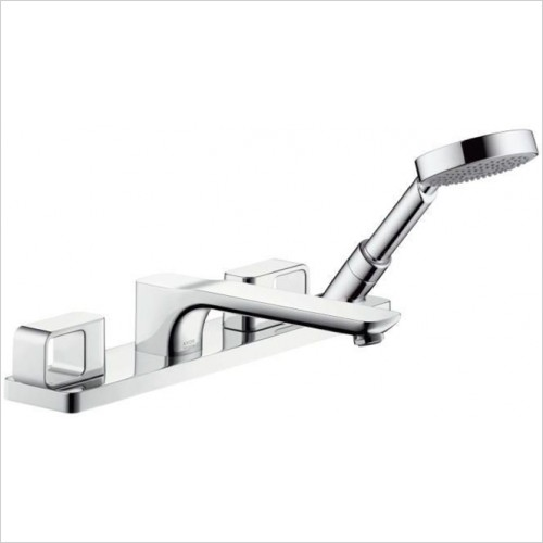 Hansgrohe - Axor Urquiola 4 Hole Bath Shower Set For Bath Rim